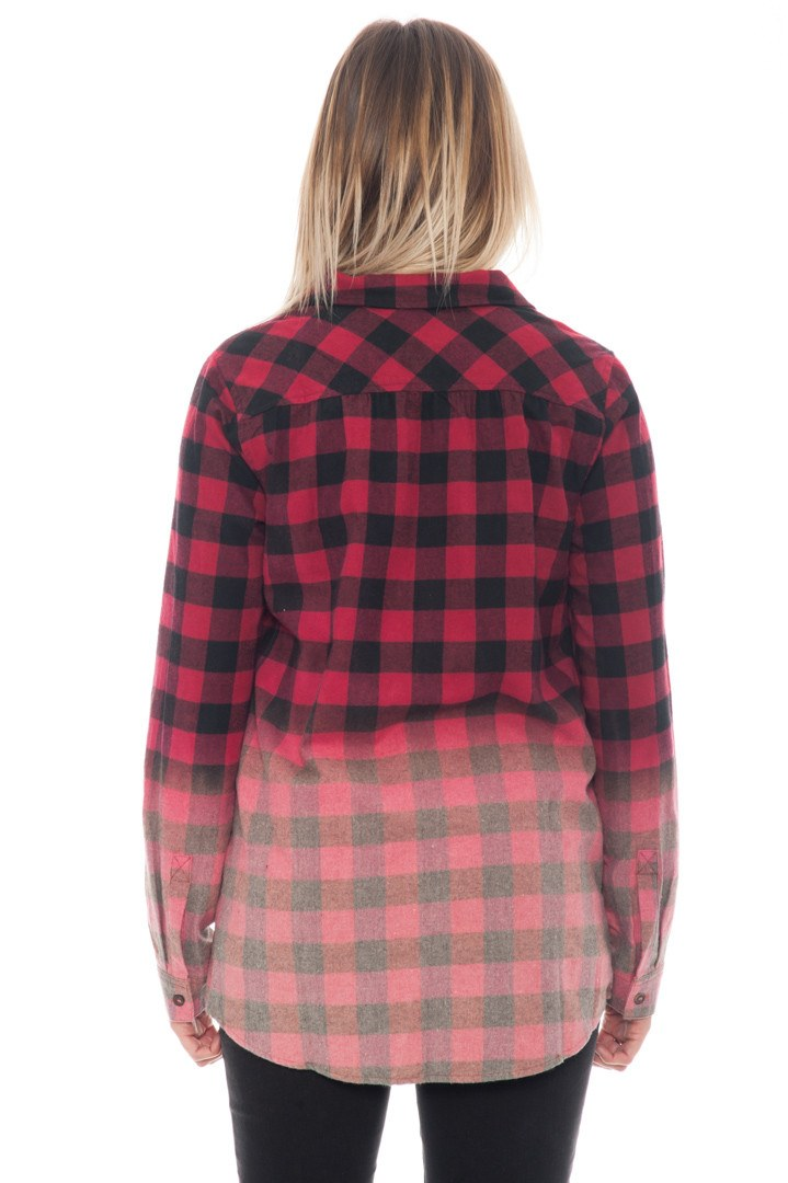 Shirt - Dip Dyed Plaid - 3