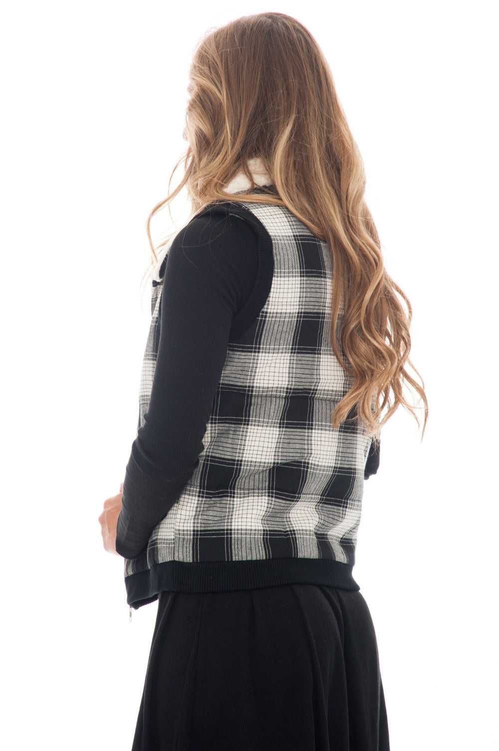 Vest - Zip Plaid - 3