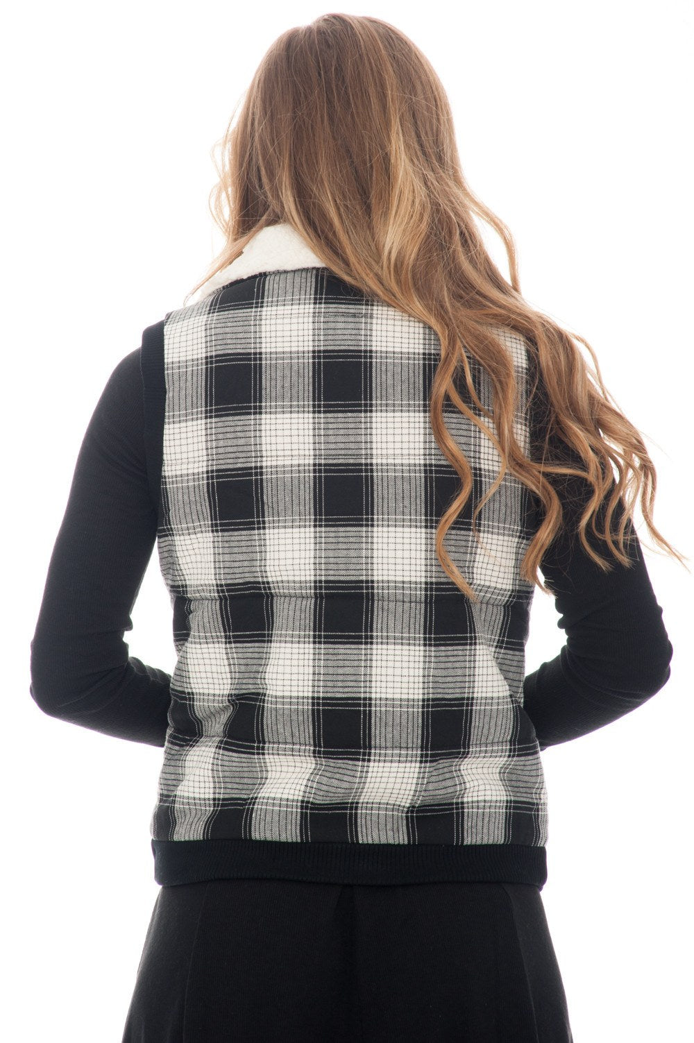 Vest - Zip Plaid - 4