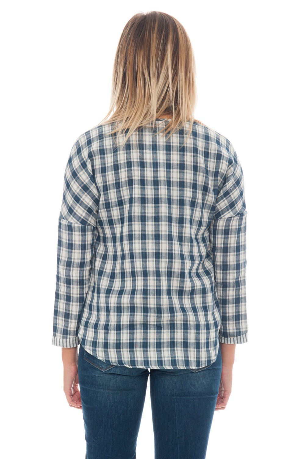 Blouse - Plaid Wrap - 3