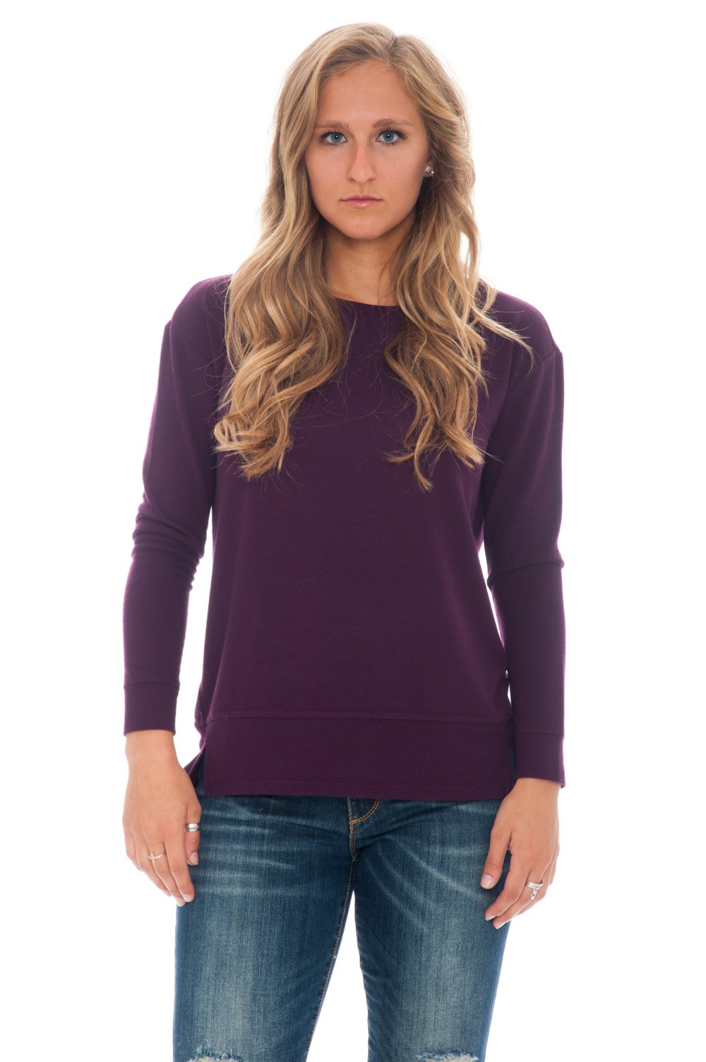 Top - Begley Purple Sleeve by BB Dakota - 1