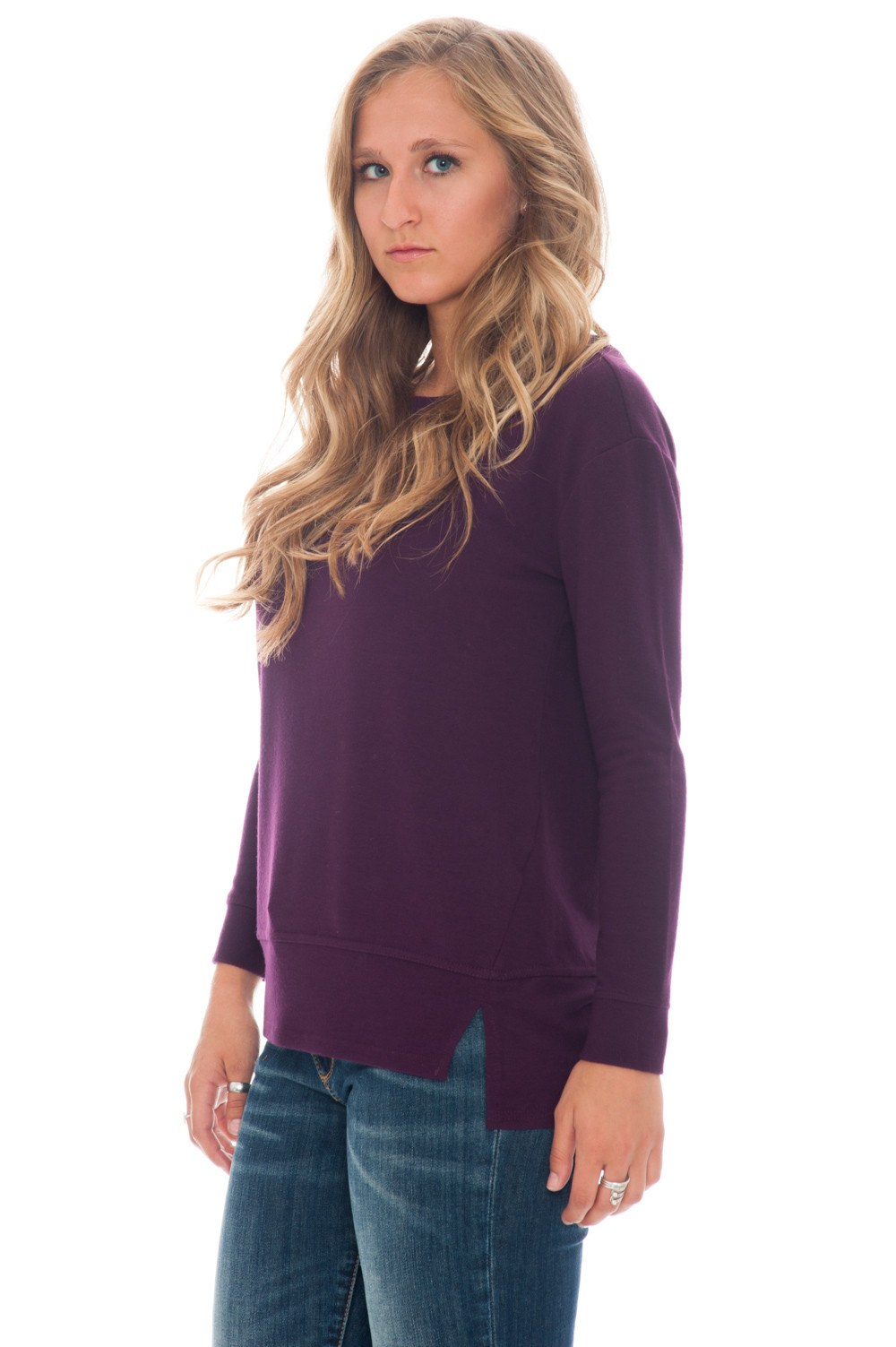 Top - Begley Purple Sleeve by BB Dakota - 2
