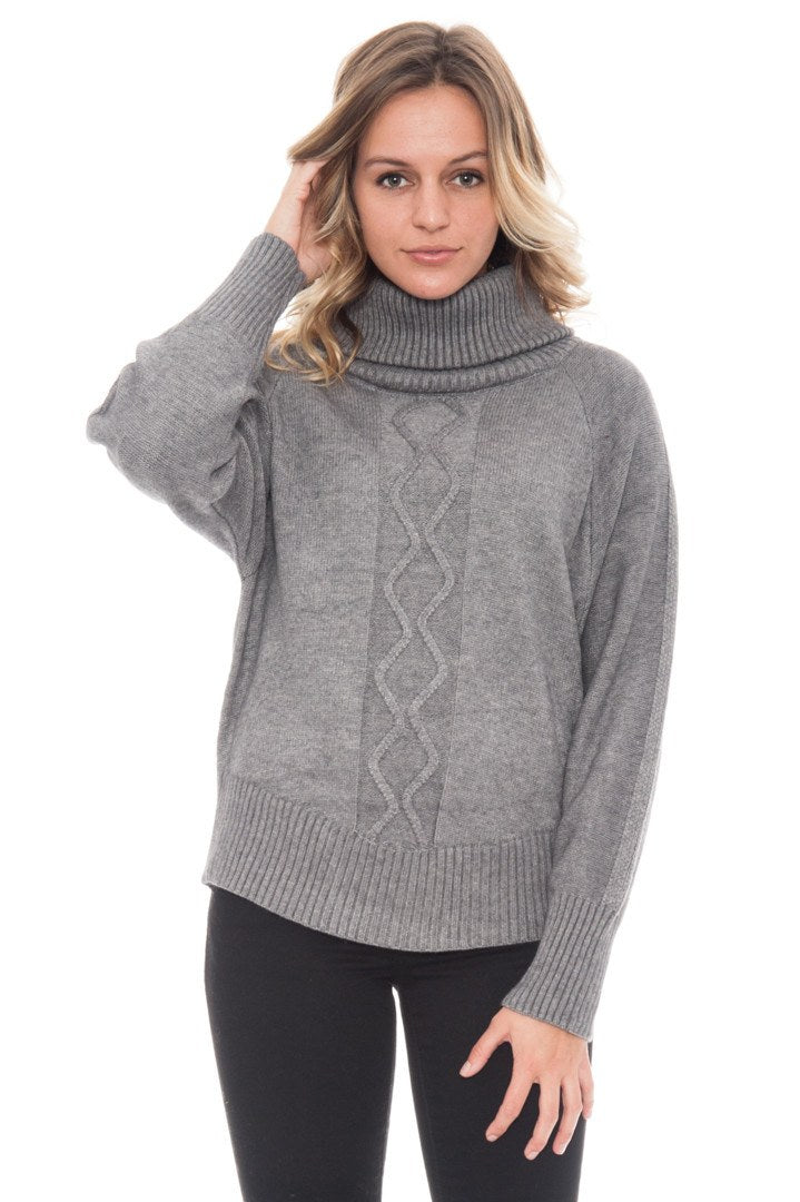 Sweater - Turtleneck By Paper Crane
