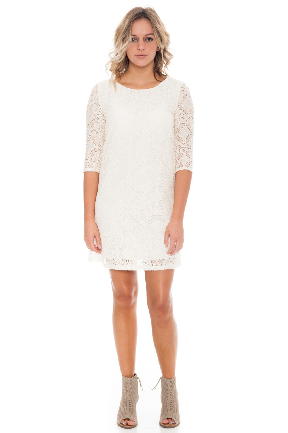 Dress - Shift Lace - 2