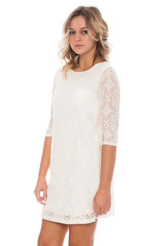 Dress - Shift Lace By Everly (Final Sale)