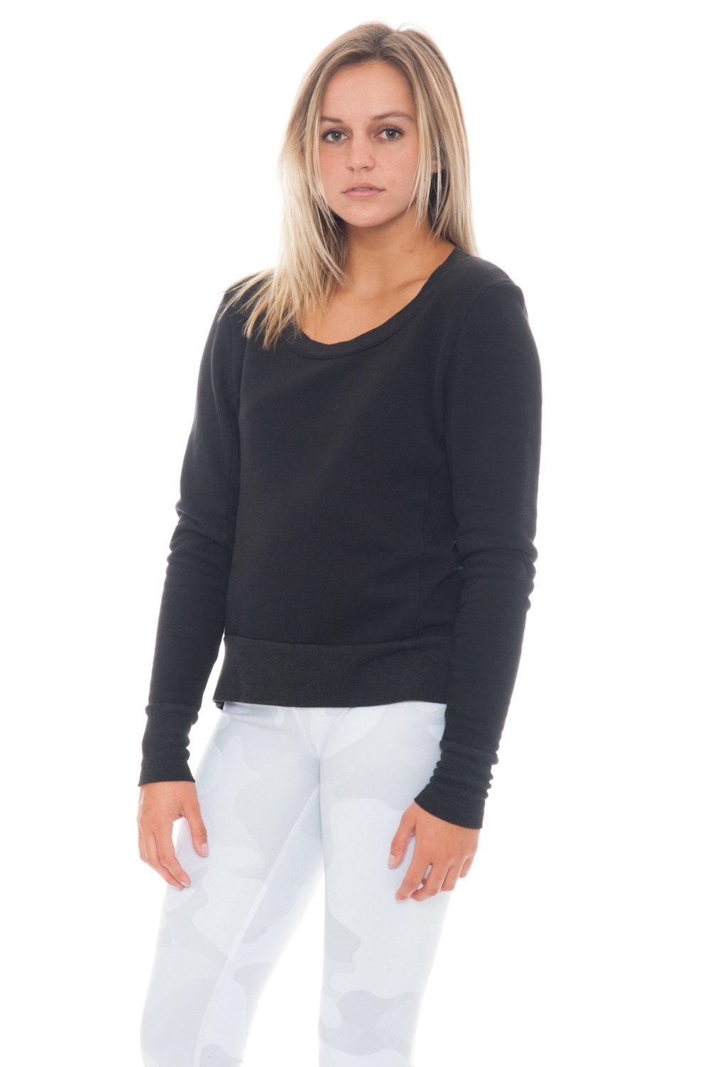 Sweatshirt - SIMONE Open Back by Good hYOUman - 1