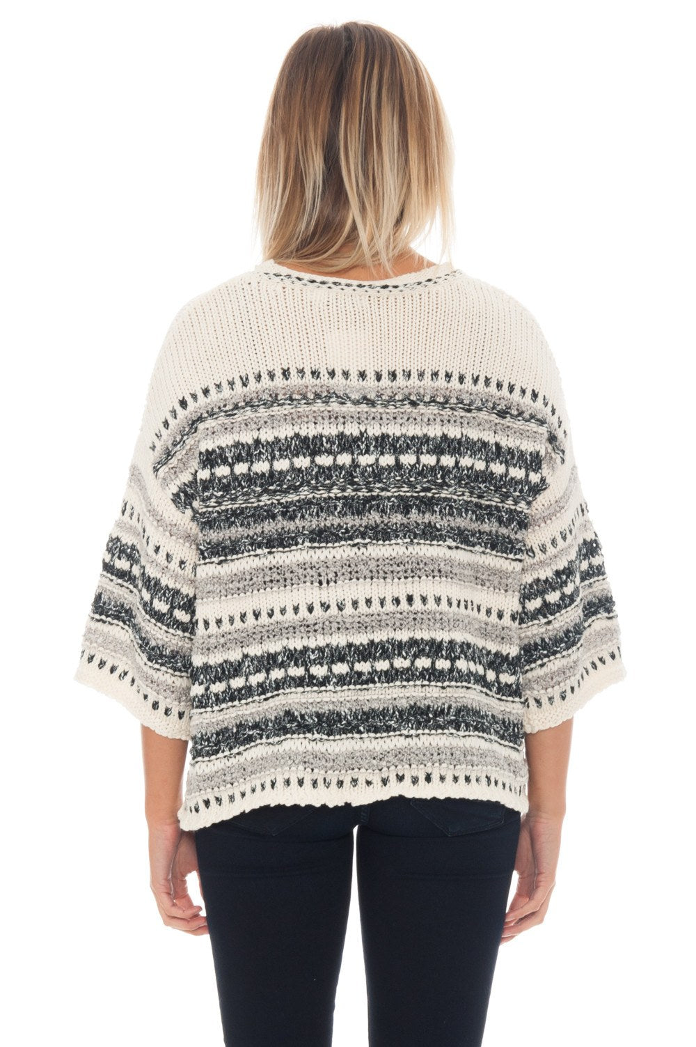 Sweater - Stripes + Fringe - 3
