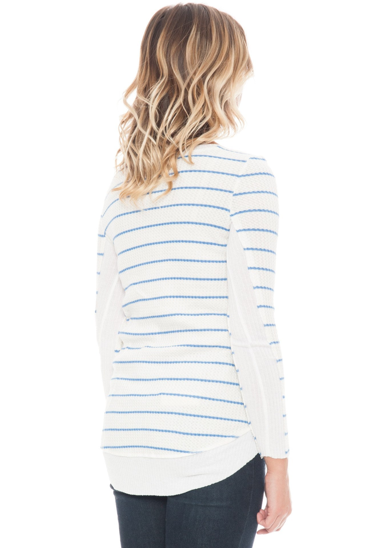 Shirt - Waffle Stripes By Paper Crane