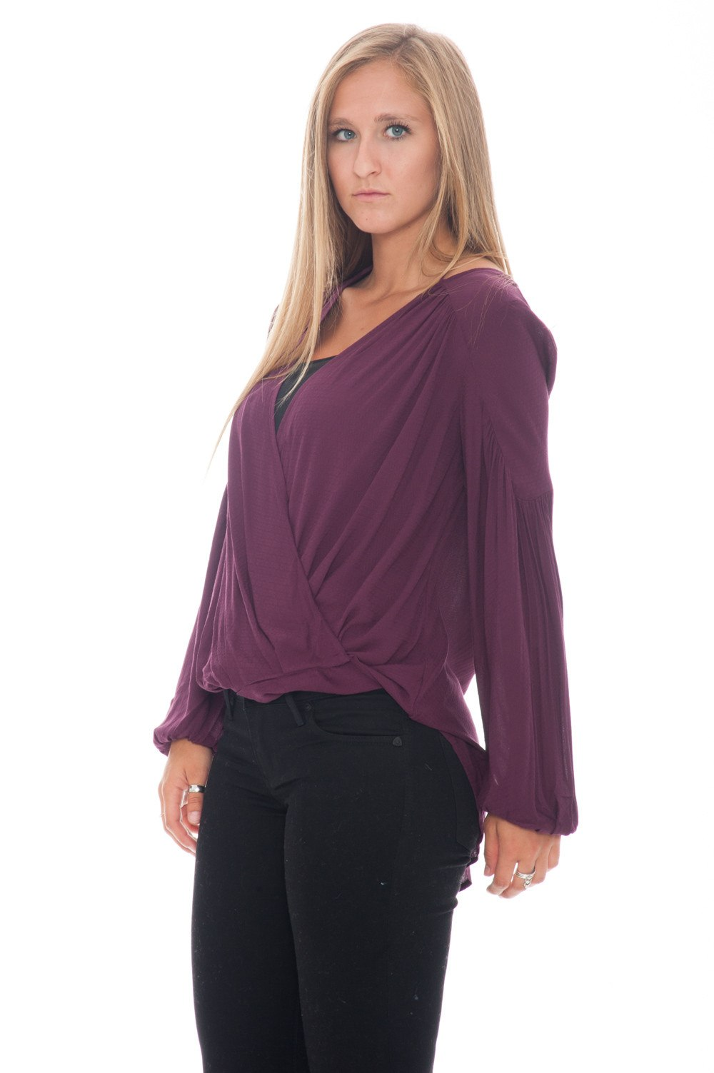 Blouse - Wrap - 3