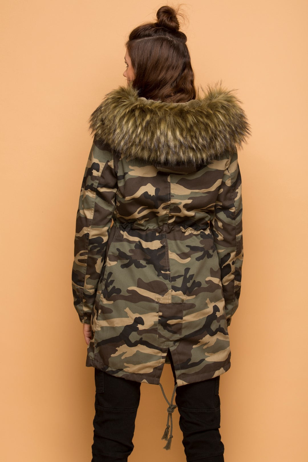 Reporting Fur Duty - Camo Hooded Coat by Coalition