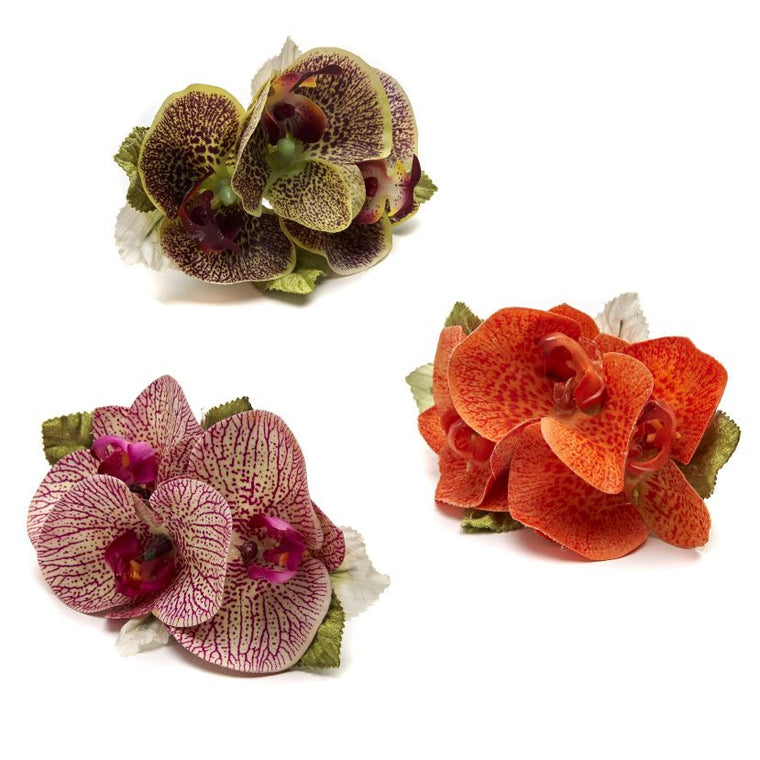 Bali Orchid Napkin Ring