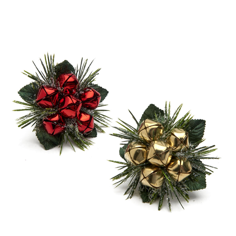 Jingle Bell Bouquet Napkin Ring