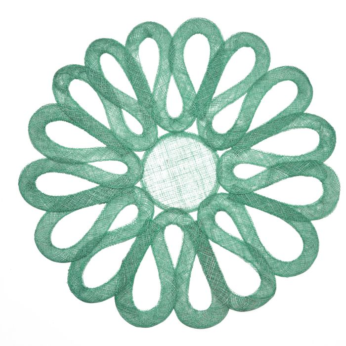 Looped Sinamay Placemat