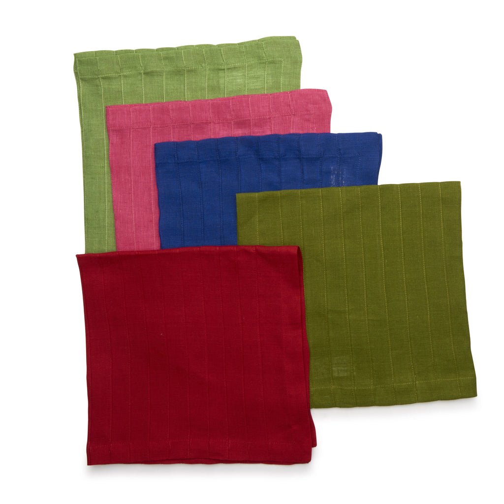 Pleated Linen Napkin
