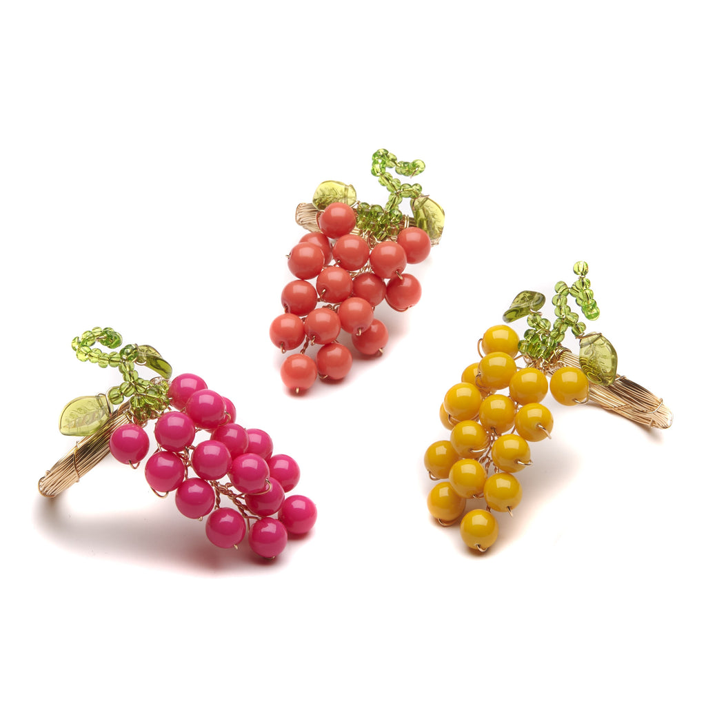 Retro Berries Napkin Ring