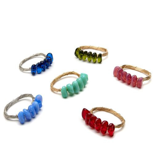 Rock Bead Bar Napkin Ring