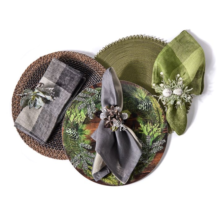 Forest Cluster Napkin Ring
