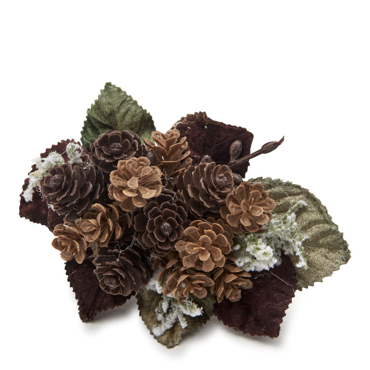 Rustic Pinecone Cluster Napkin Ring