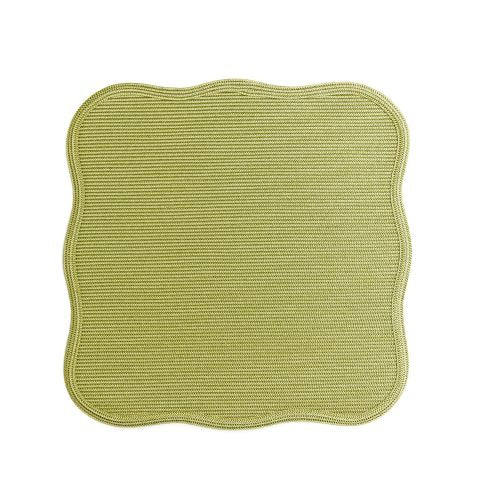 Square Scallop Twill Placemat