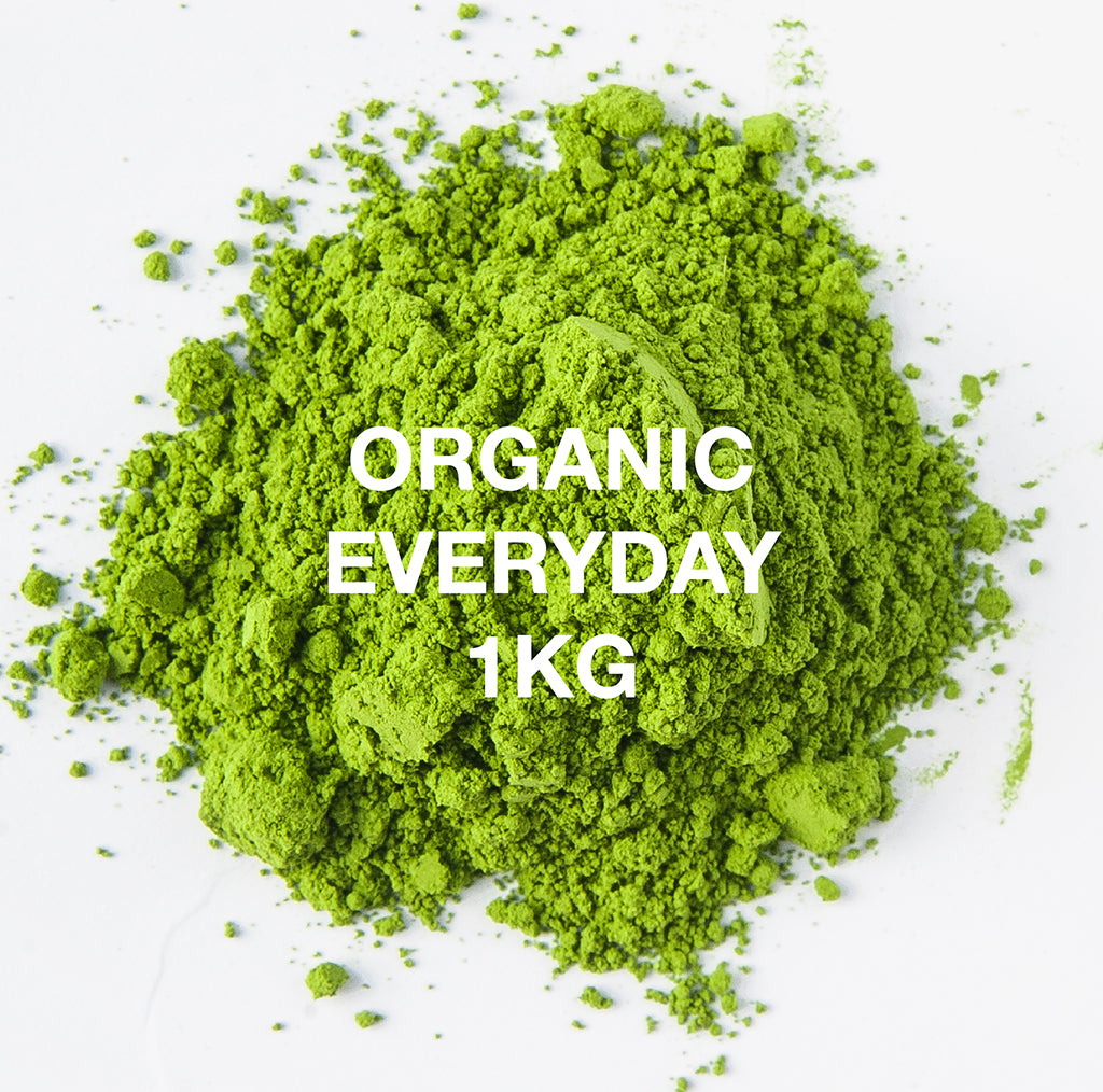 Wholesale Premium Organic Matcha - Everyday Grade 1kg