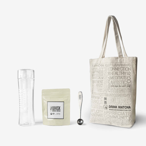 Organic Matcha On The Go - Everyday Gift Set