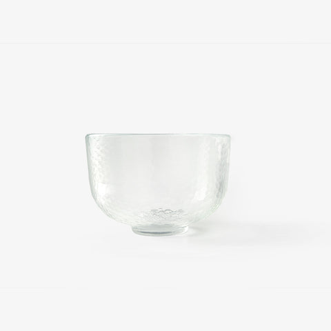 "Authentic ""Edo Glass"" matcha bowl (Chawan)"