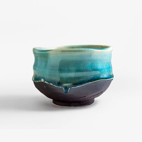 Handcrafted Glaze Pour-Over Chawan