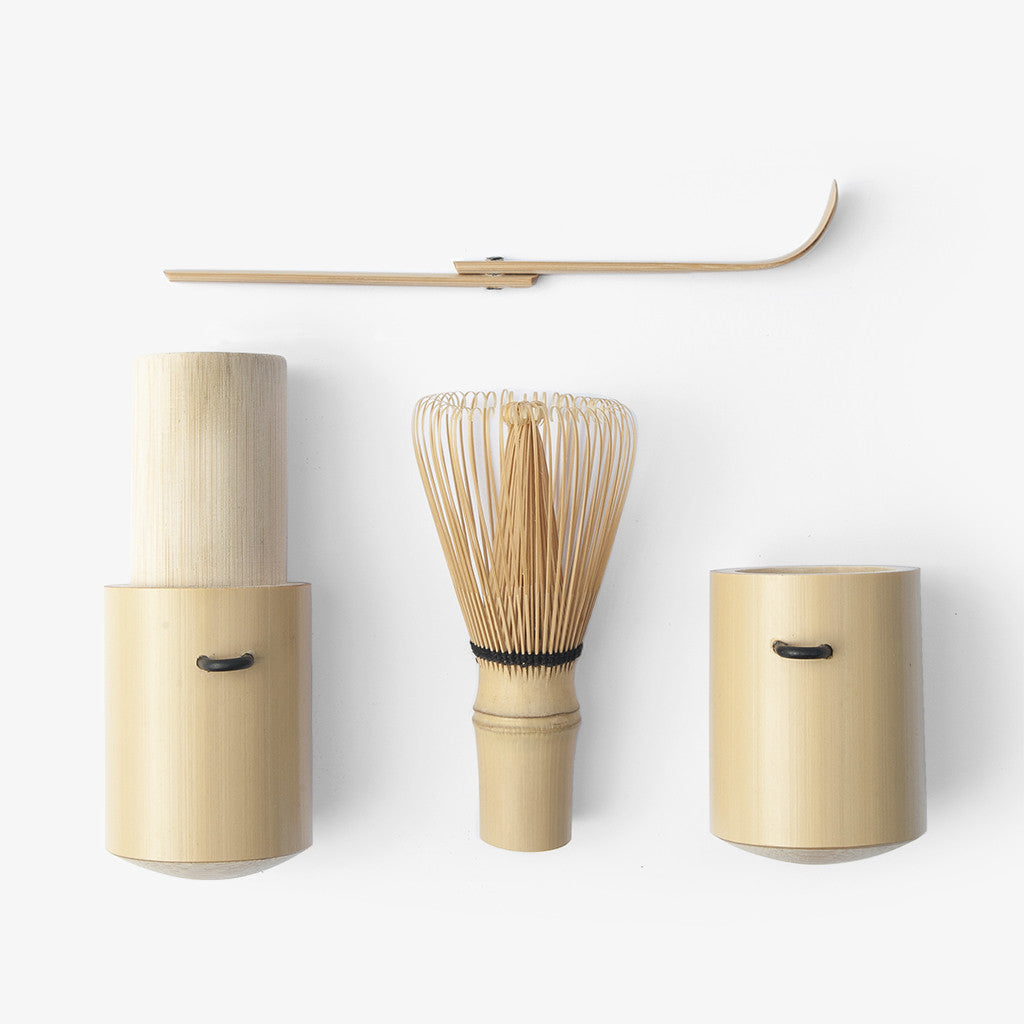 Bamboo Whisk Travel Set