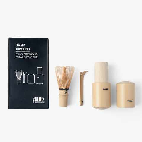 Mini Bamboo Whisk Travel Set