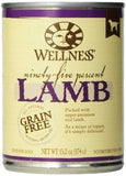 Wellness Natural Grain Free 95%  Lamb Recipe Adult Wet Canned Dog Food