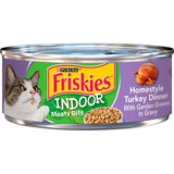 Friskies Selects Indoor Homestyle Turkey Dinner Canned Cat Food