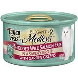 Fancy Feast Elegant Medleys Shredded Wild Salmon Canned Cat Food