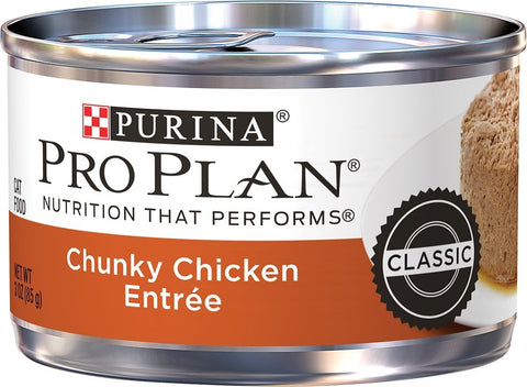 Purina Pro Plan Classic Chicken Chunky Entree Canned Cat Food