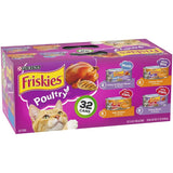 Friskies Poultry Variety Canned Cat Food