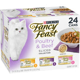 Fancy Feast Sliced Poultry & Beef Feast Variety Canned Cat Food