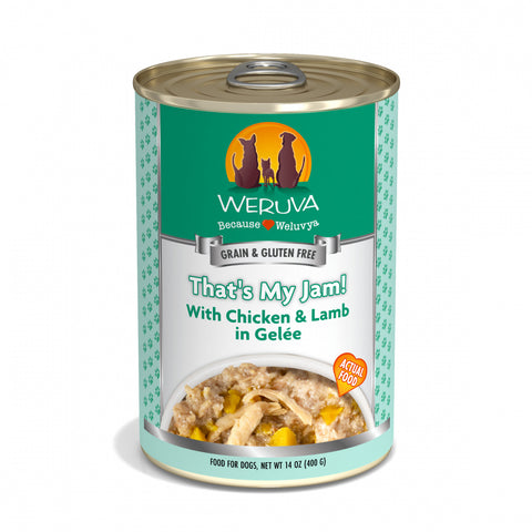 Weruva Thats My Jam Chicken & Lamb Canned Dog Food
