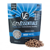 Vital Essentials Freeze Dried Grain Free Beef Mini Nibs Entree for Dogs Food