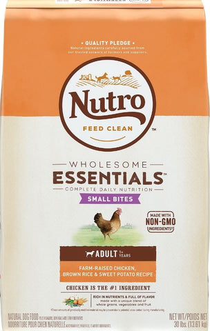 Nutro Wholesome Essentials Small Bites Chicken, Whole Brown Rice and Sweet Potato Dry Dog Food
