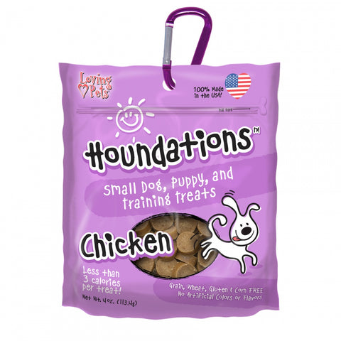 Loving Pets Houndations Grain Free Chicken Training Dog Treats