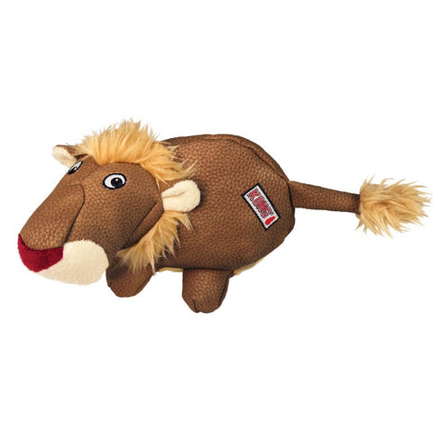 KONG Phatz Lion Plush Dog Toy