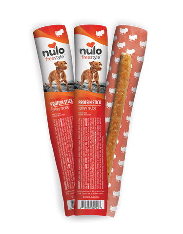 Nulo FreeStyle Grain Free Grab n Go Turkey Flavor Protein Sticks