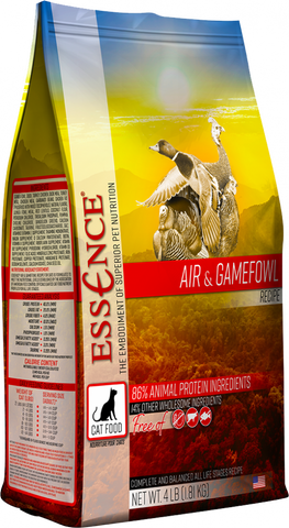 Essence Grain Free Air & Gamefowl Recipe Dry Cat Food