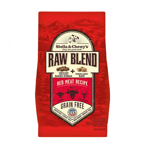 Stella & Chewy's Raw Blend Kibble Red Meat Recipe Dry Dog Food