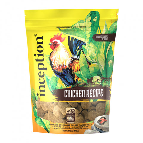 Inception Chicken Recipe Dog Training Biscuits