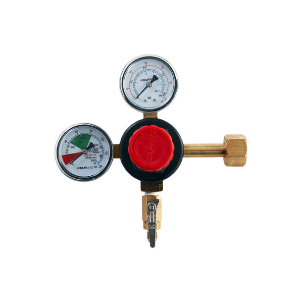 CO2 Regulator Double Gauge