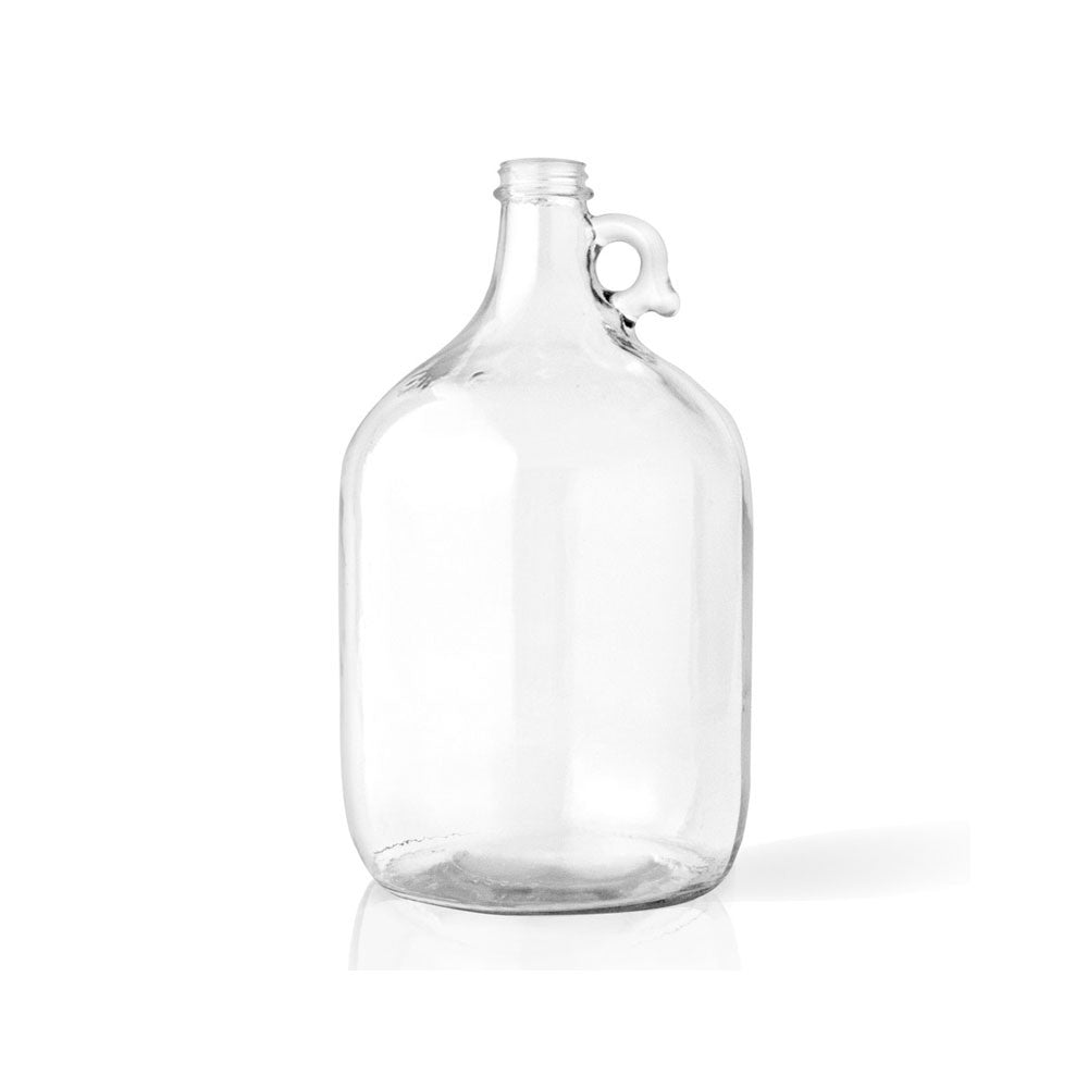 Clear Glass Jug, 1/2 Gal