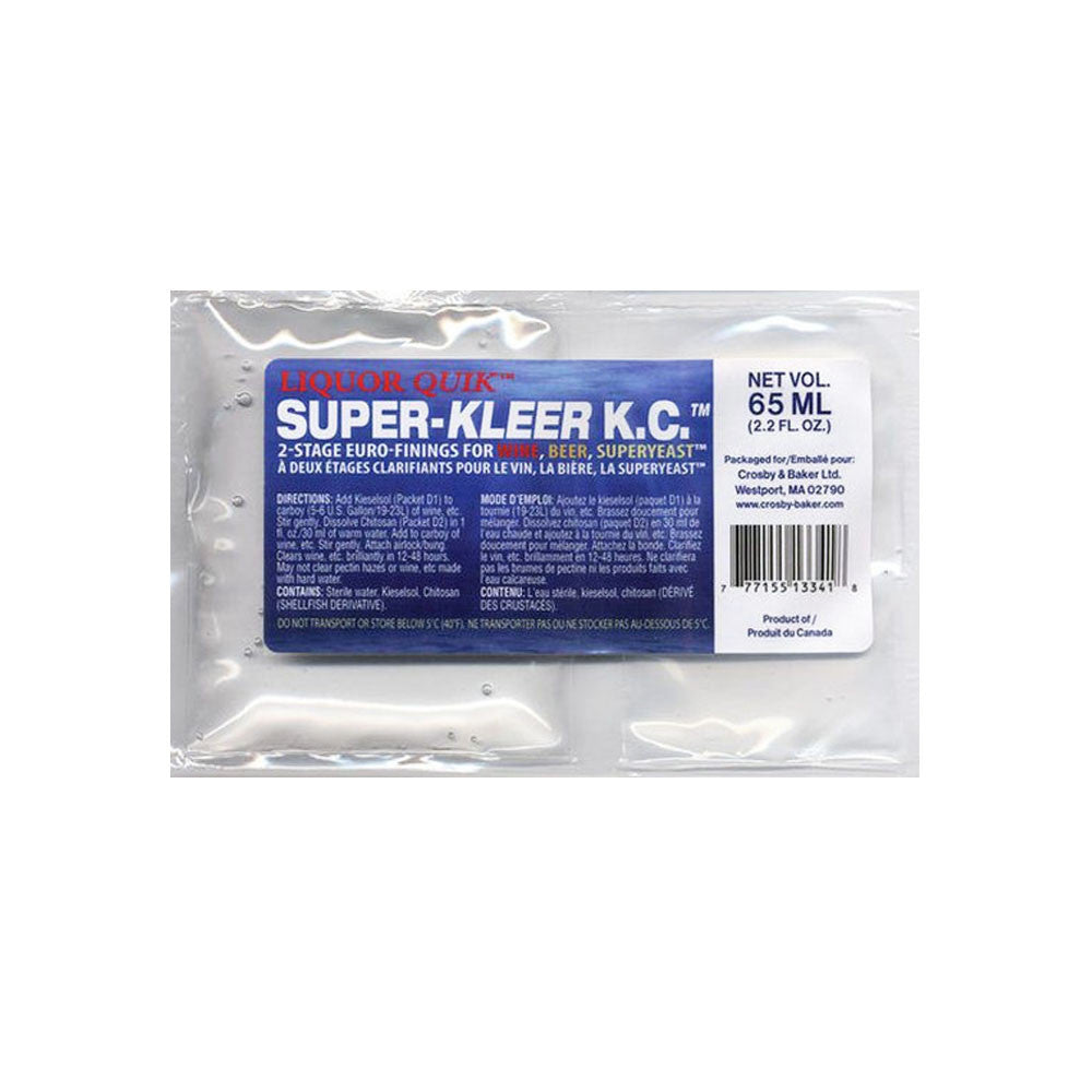 Super-Kleer Fining Kit