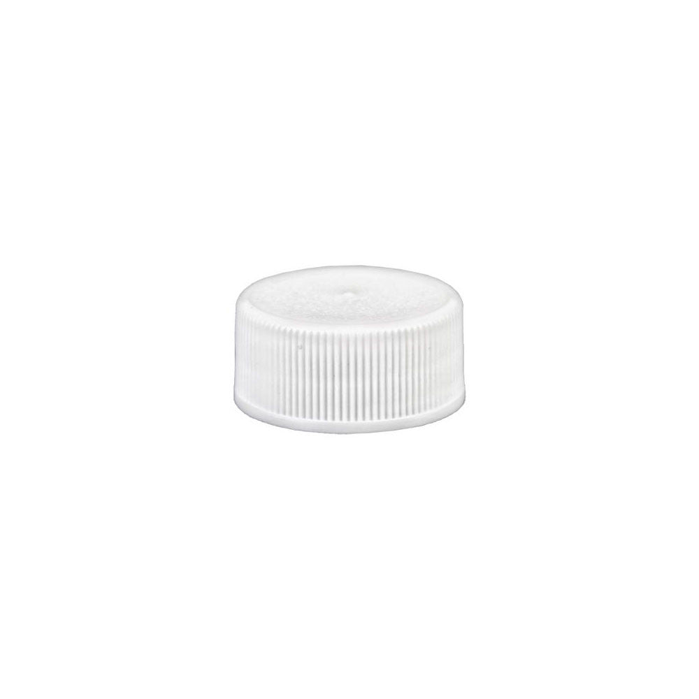 Screw Cap, White Plastic 28mm