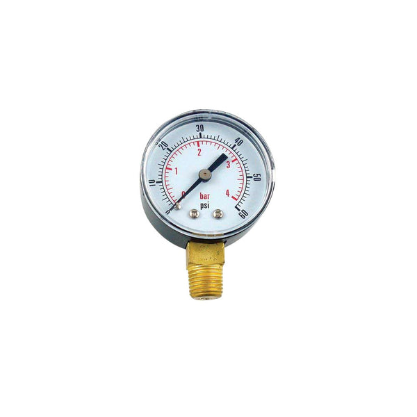 Low Pressure Gauge, 0-60 PSI