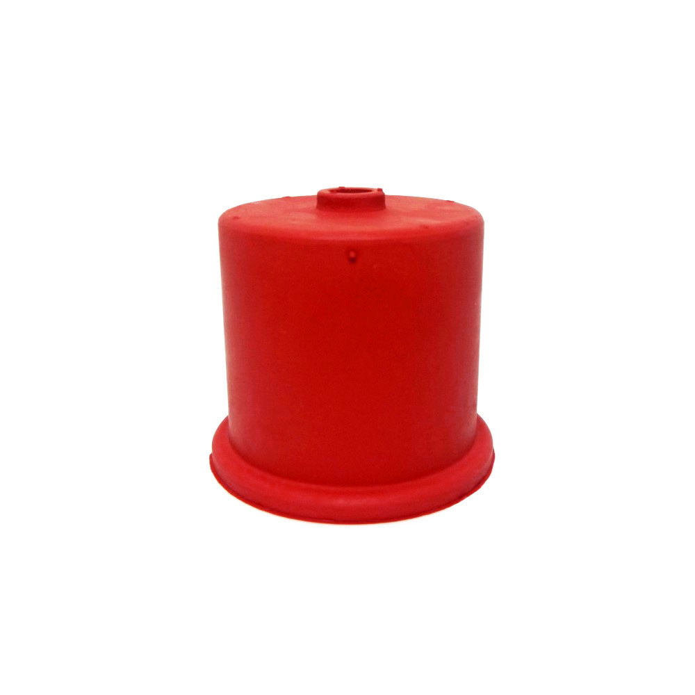 Carboy Cap, Red Single Hole